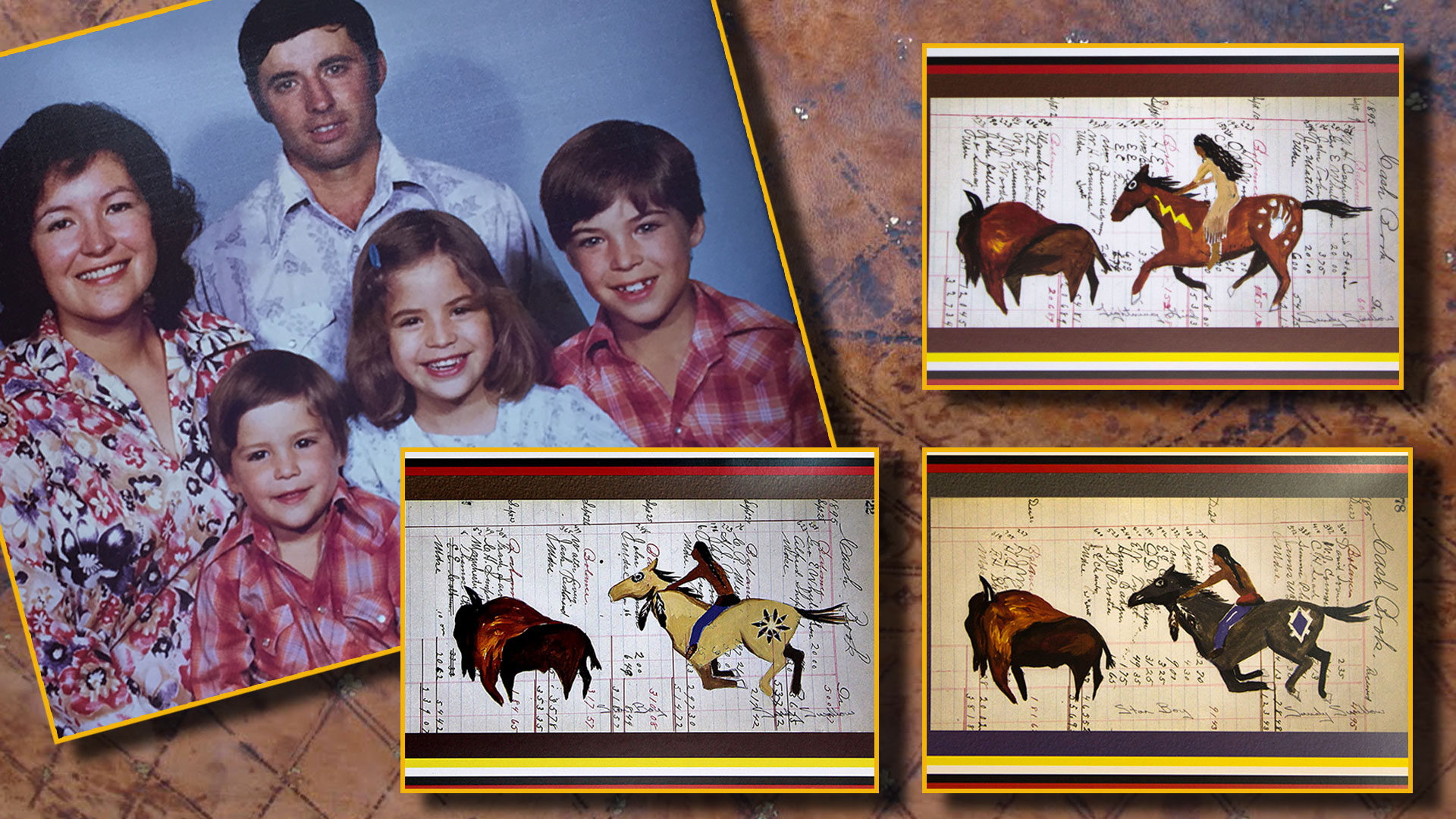 My Family Ledger Art - Sandy Swallow
